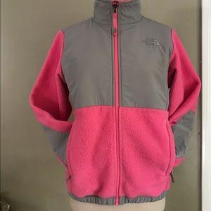 HP🎉The North Face zip up fleece jacket